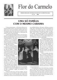 Flor do Carmelo Nº 30 - Ordem dos Padres Carmelitas Descalços