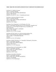 msrc erkende opleidingsinrichtingen medische microbiologie - NVMM