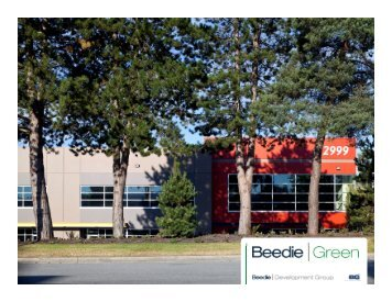 Download our BGreen Solutions Package. - Beedie Group