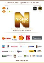 A New Dawn for the Nigerian Oil & Gas Industry - Nigeria Oil & Gas