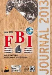 0664 2055830 info@fbi-immo.at - FBI - Friedrich Brunauer Immobilien