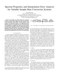 Spectral Properties and Interpolation Error Analysis for Variable ...