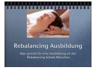 Rebalancing Ausbildung - Rebalancing Schule München