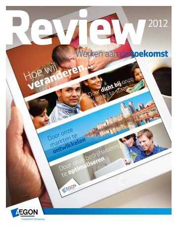 Aegon Review 2012 - Aegon's 2012 Review