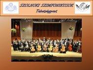A jó zenész kellékei - Szolnoki Szimfonikus Zenekar