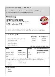 Anmeldung HERBSTSCHAU 2012 - Weingarten.IN