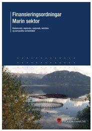 Finansieringsordningar Marin sektor - Hordaland fylkeskommune
