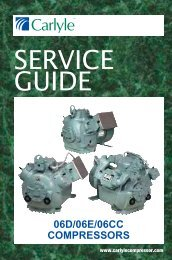 SERVICE GUIDE - Carlyle