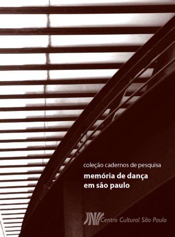 memóriadadança emsãopaulo - Centro Cultural São Paulo