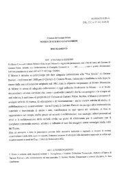 Regolamento del museo civico di Castano Primo - Comune di ...