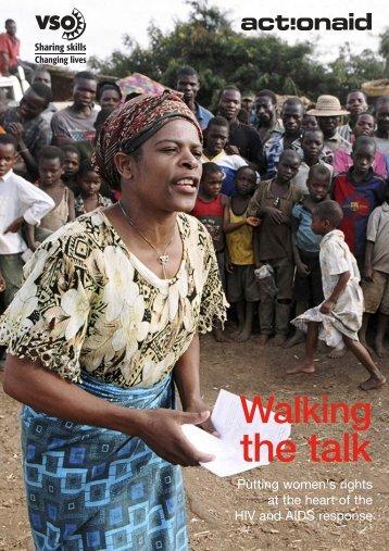 Walking the talk - ActionAid