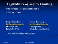 angst - Region Midtjylland