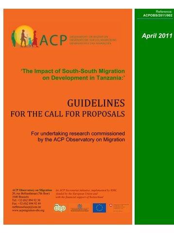 ACP - African Diaspora Policy Centre