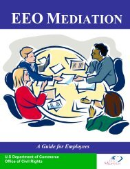 about eeo mediation - Department of Commerce