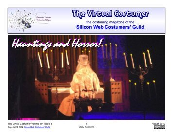 Hauntings and Horror! - Silicon Web Costumers' Guild