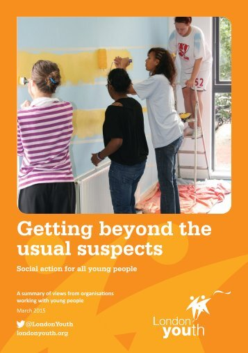 Getting beyond the usual suspects - March 2015
