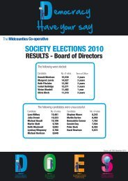Board and MSC Elections 2010 - The Midcounties Co-operative