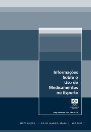 Informações Sobre o Uso de Medicamentos no Esporte