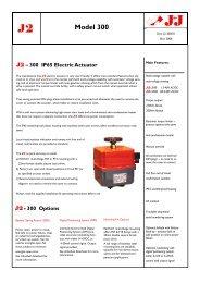 Model 300 Electric Actuator