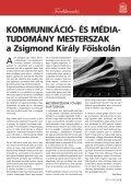 FELVÉTELI - Zsigmond Király Főiskola - Page 7