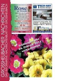 Großheubacher Nachrichten Ausgabe 04-2013 - STOPTEG Print ...