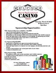 Sponsorship Opportunities - Boston Bar Association