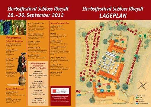 Herbstfestival Schloss Rheydt 28. -30. September 2012