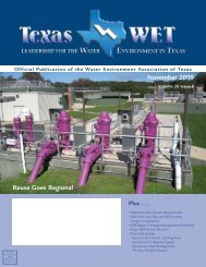 November 2009 - Water Environment Association of Texas