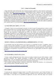 CAE – Critical Art Ensemble Negli ultimi dieci anni CAE ... - Eleuthera