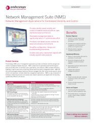 Enterasys Network Management - Starnet Data Design, Inc