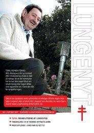 Download Lungenyt 5, 2007 - Danmarks Lungeforening