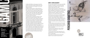 GAMC - Galleria Arte Moderna e Contemporanea - Comune di ...