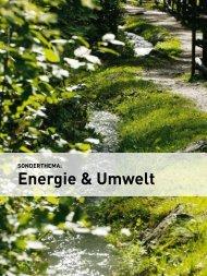 Sonderthema: energie & Umwelt - wia