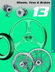 Wheels, Tires & Brakes - Custom Bikes by Mike