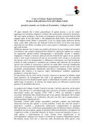 L'arte in Collegio. Il gioco del domino 82 opere ... - Comune di Pavia