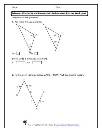 math worksheet : proving triangle theorems independent practice worksheet  math  : Independent Practice Math Worksheet