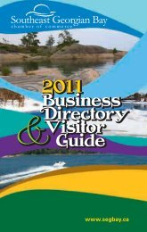 2011 Business Directory Visitor Guide 2011 Business Directory ...