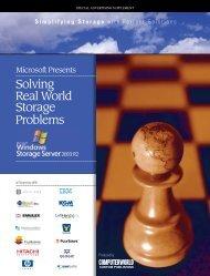 Solving Real World Storage Problems - Computerworld