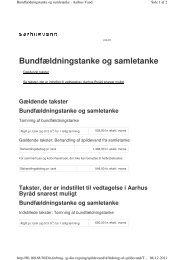 fra 1. januar til 10. februar 2011 - Aarhus Vand