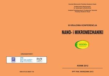 iii krajowa konferencja kknm 2012 - Fluid.ippt.pan.pl - Polska ...