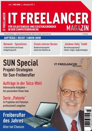 IT Freelancer Magazin Nr. 3/2006