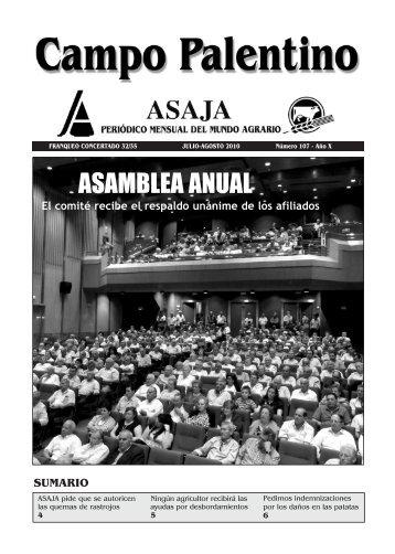 CAMPO PALENTINO julio-agosto 10.qxd - ASAJA Castilla y León
