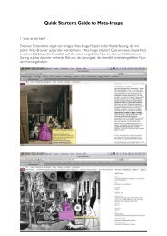 Quick Starter´s Guide to Meta-Image als pdf herunterladen
