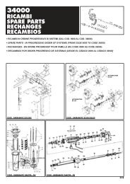34000 ricambi spare parts rechanges recambios - Saimatic