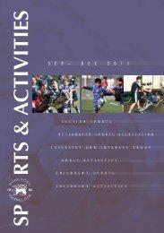 Sp r tS & A ctivitieS - Hong Kong Football Club