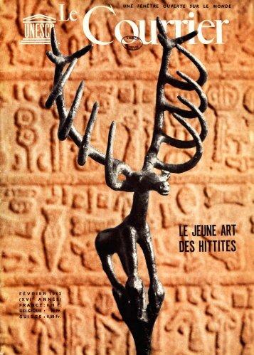 Le Jeune art des Hittites; The Unesco courier: a ... - unesdoc - Unesco