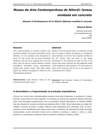 Museu de Arte Contemporânea de Niterói - Arquitetura Revista