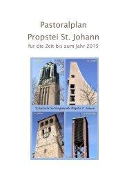 Pastoralplan zum Download - Propstei St. Johann - Bistum Essen