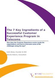 The 7 Key Ingredients of a Successful Customer Experience ...