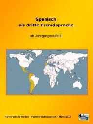 Spanisch als zweite Fremdsprache - Herderschule
